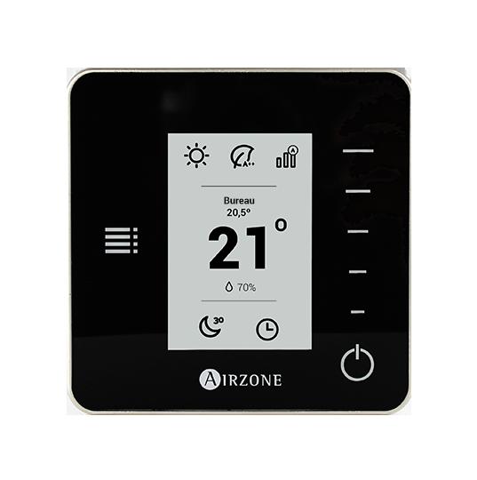 Comparaison Thermostats Think Noir