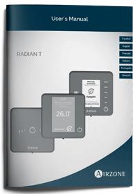 Manuel d'utilisation Airzone système RadianT