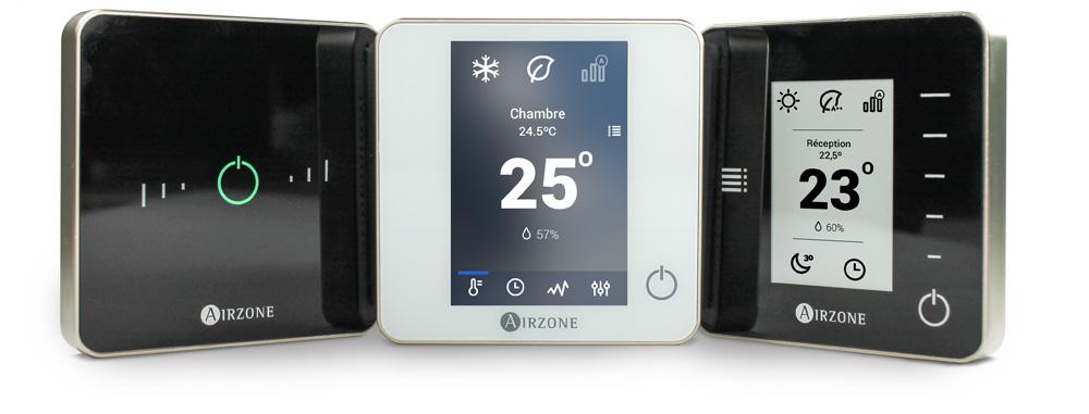 Nouveaux Thermostats Intelligents Airzone
