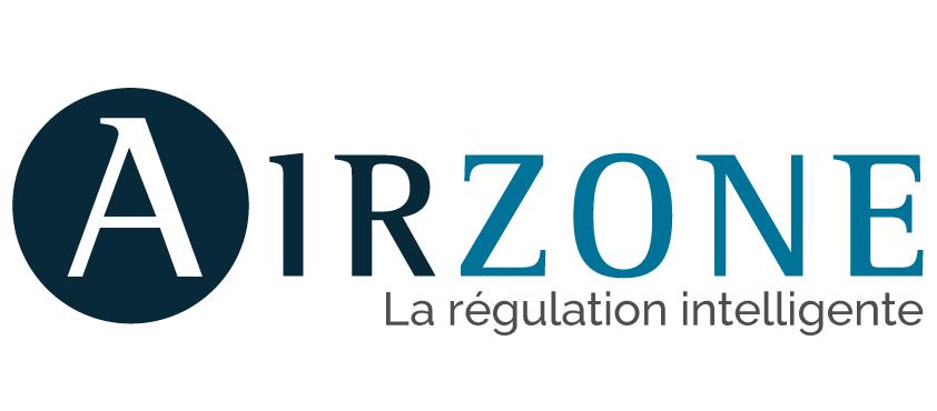 Logo airzone sur fond blanc